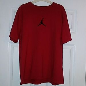 JORDAN JUMPMAN RED T-SHIRT